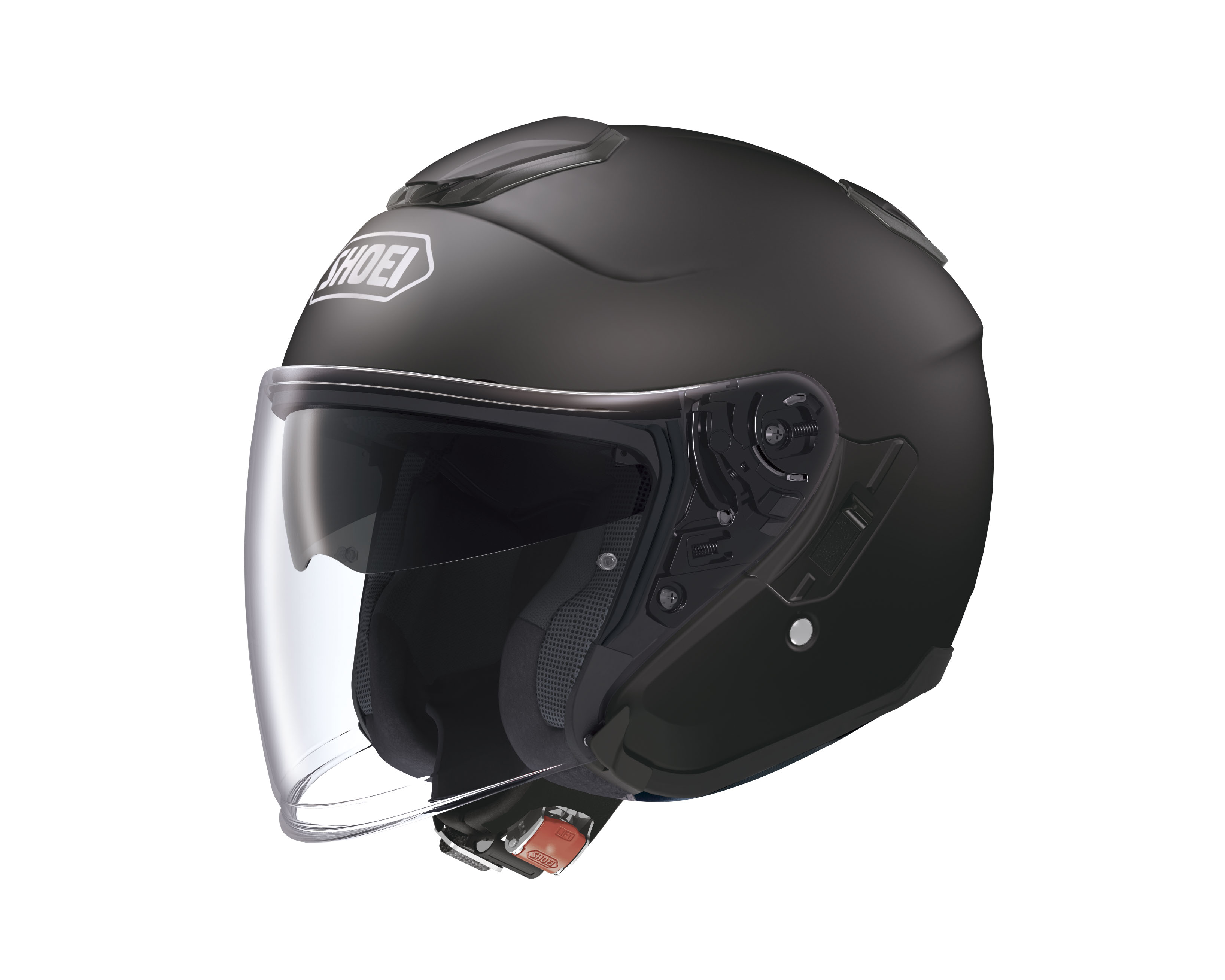 Casco Helmet Jet Shoei J-Cruise Nero Opaco moto scooter