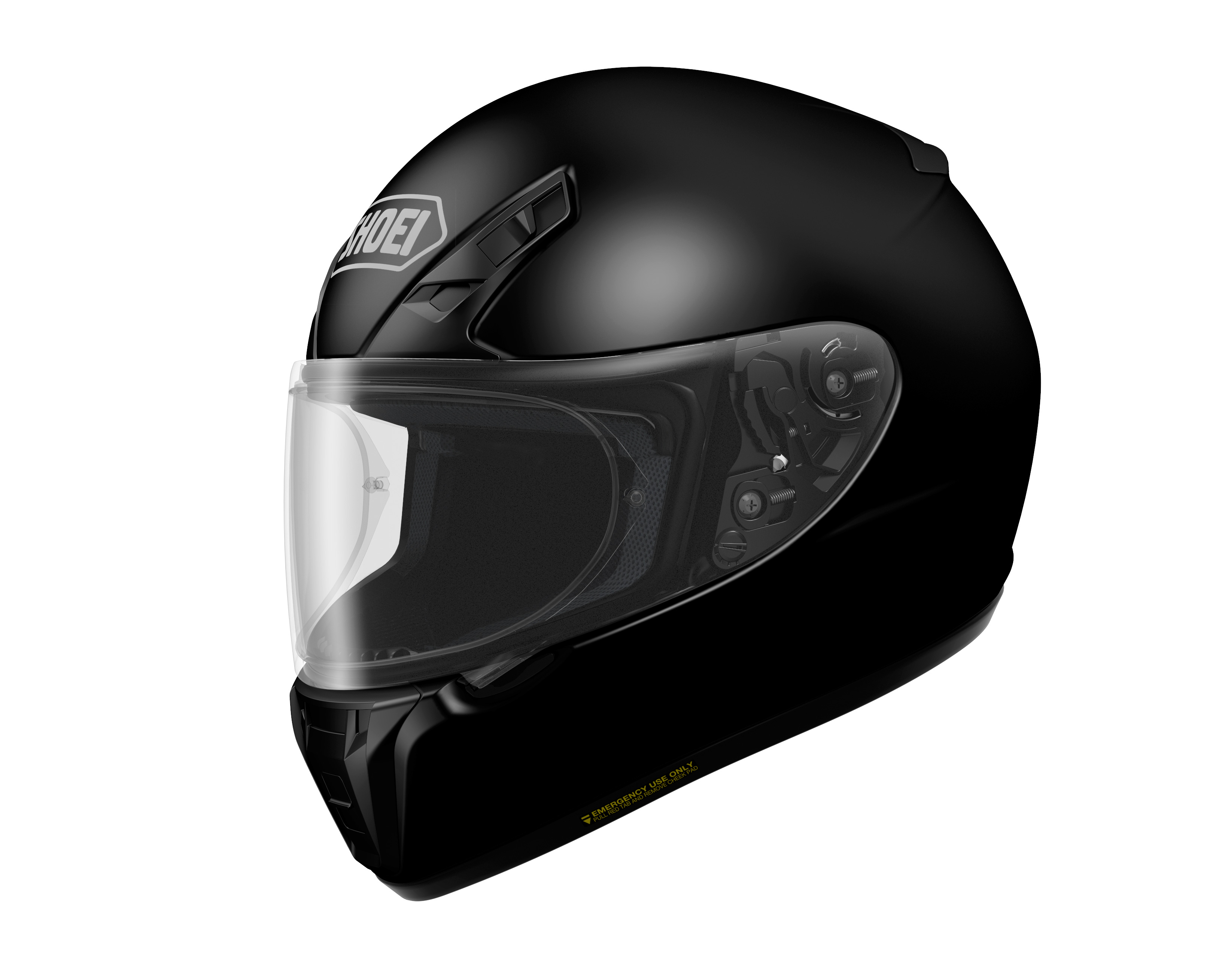 Casco Helmet Integrale Shoei RYD nero black moto scooter