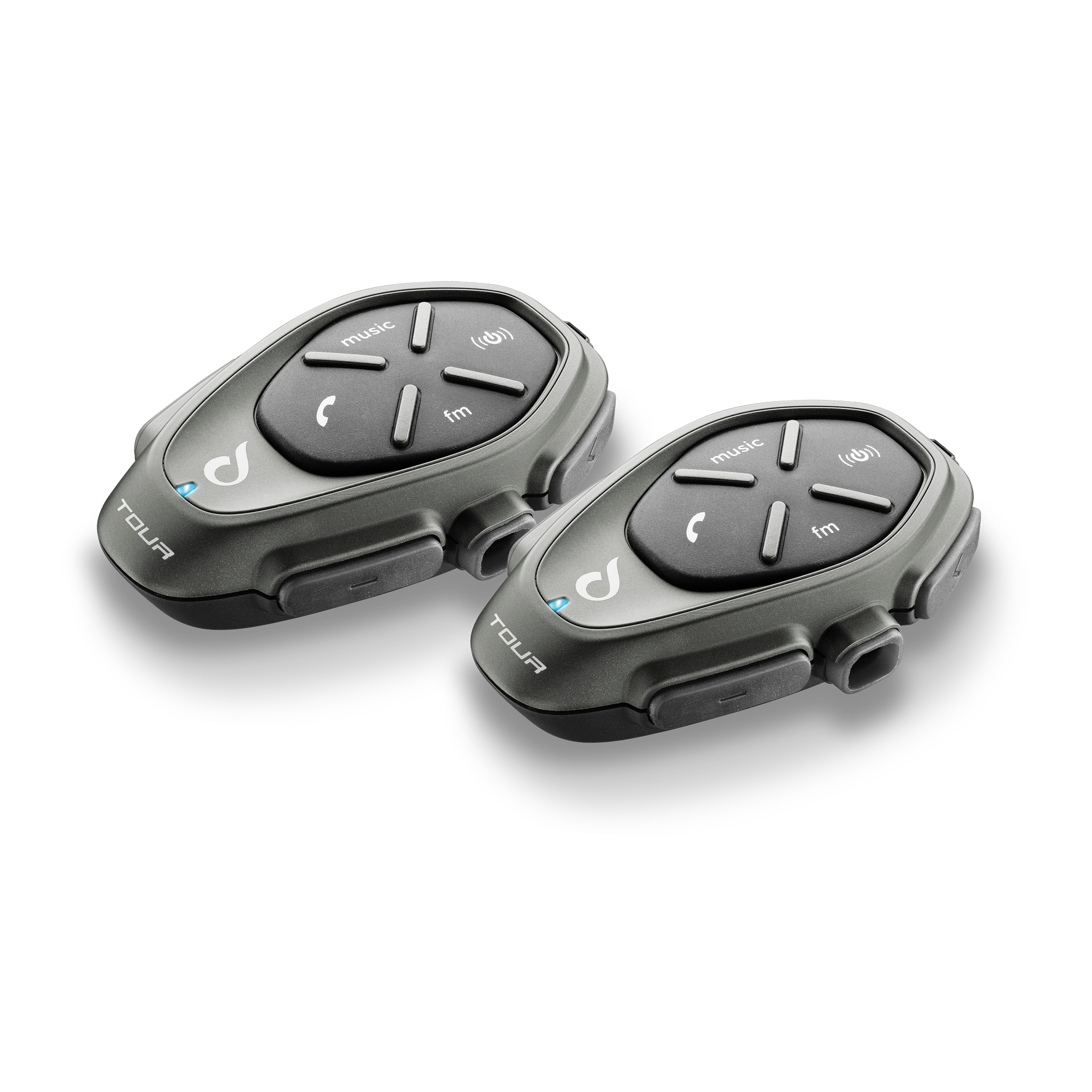 Interphone Interfono Cellular Line Tour Coppia Bluetooth 3.0 Casco Moto Scooter