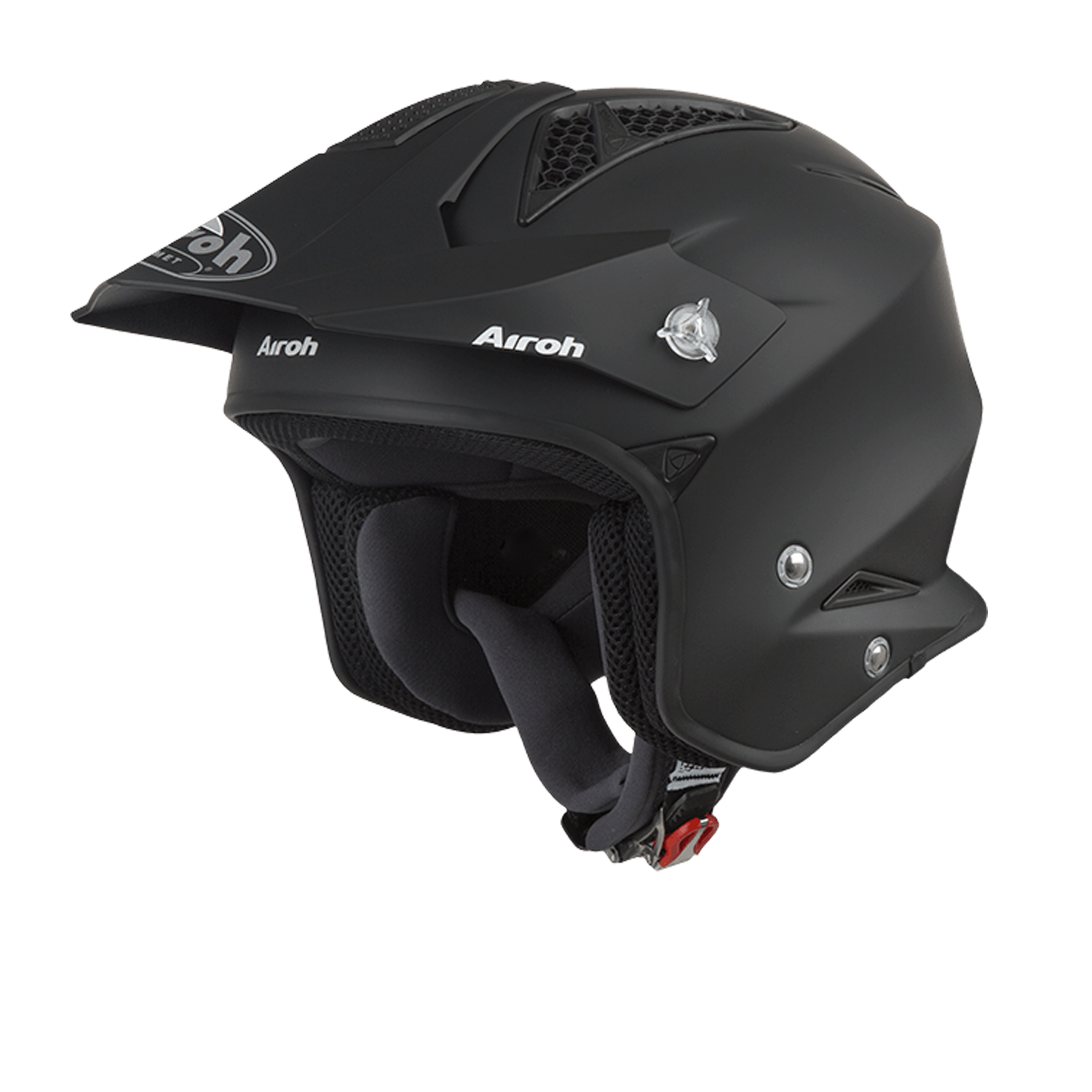 Casco helmet Airoh Urban Jet TRR S Color Black Matt moto scooter