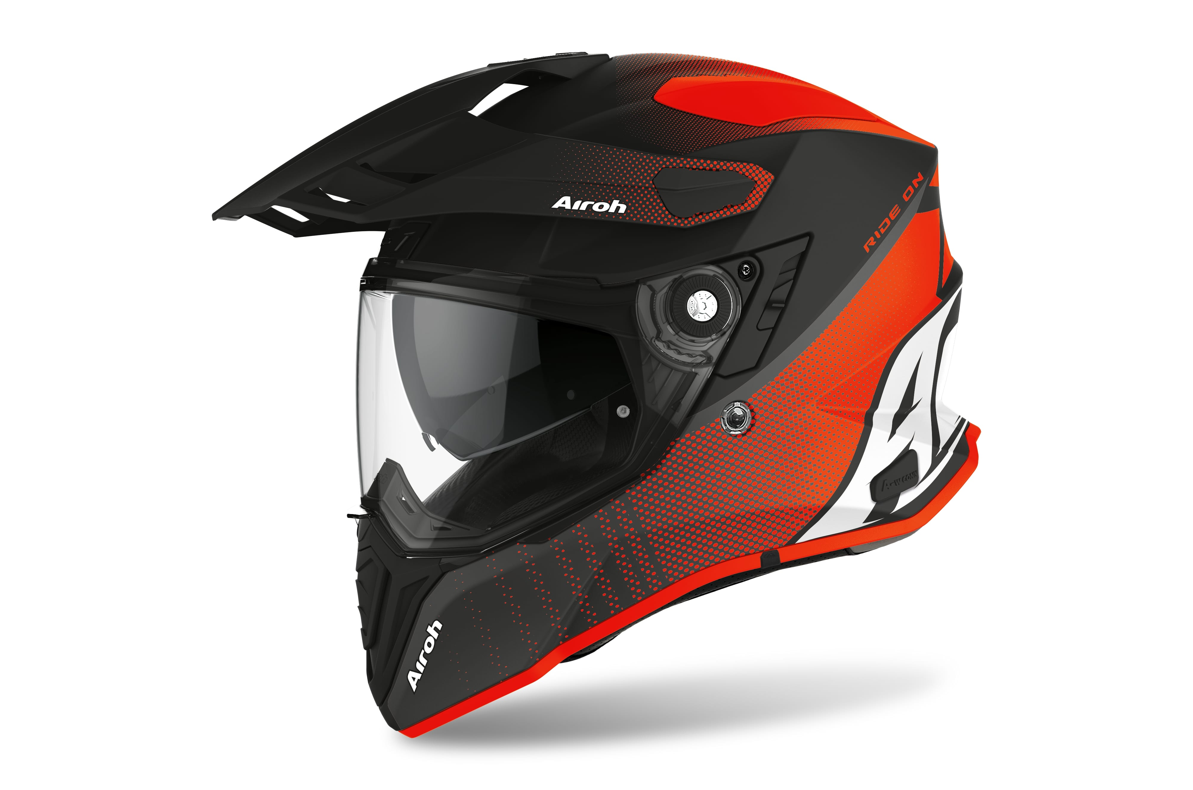 Airoh Casco COMMANDER PROGRESS Arancio Opaco CMP32