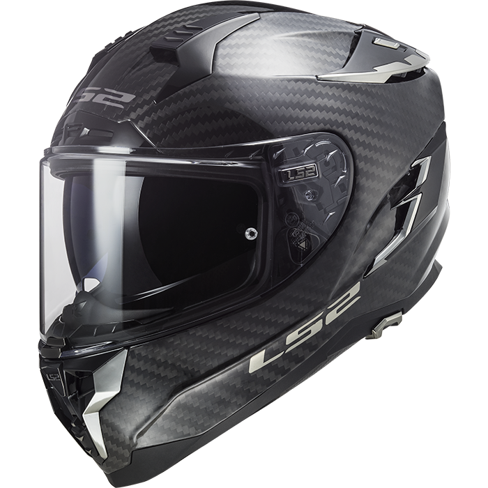 Casco integrale LS2 FF327 CHALLENGER CT2 CARBON Nero