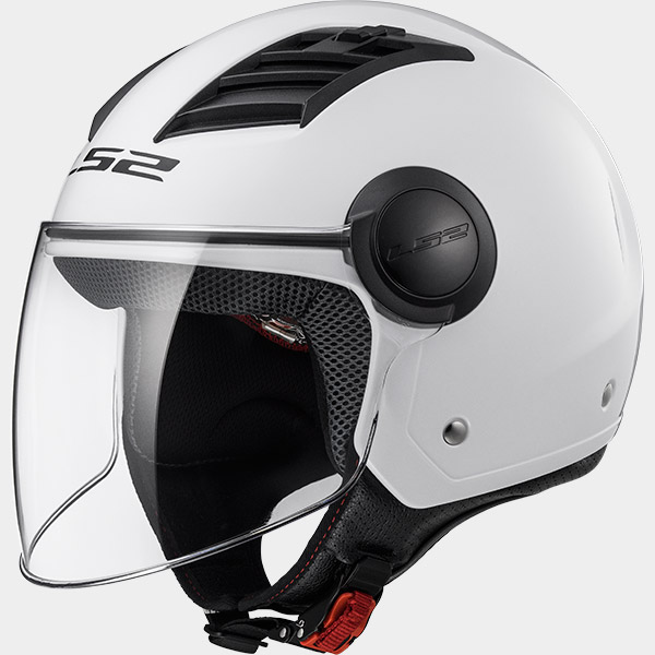 Casco Jet LS2 AIRFLOW Bianco Lucido OF562