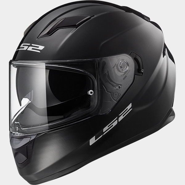 Casco Integrale LS2 STREAM EVO FF320 Solid Gloss Black