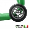 CAVALLETTO POSTERIORE FISSO ALZAMOTO A FORCHETTE VERDE BIKE LIFT MOTO