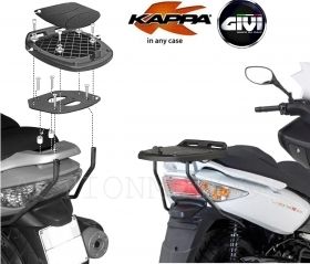PORTAPACCHI ATTACCO MONOLOCK BAULETTO KAPPA KR910 KYMCO XCITING 300 500 R 09-13