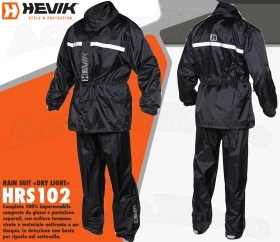 Hevik Kappa Completo Antipioggia HRS102 Rain Suit Dry Light Moto Scooter Barca