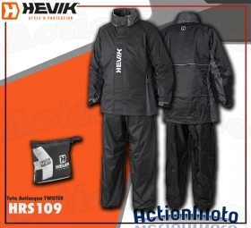 Hevik Kappa Completo Antipioggia HRS109 TWISTER Moto Scooter Barca