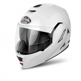 Casco Airoh Flip Up Apribile Modulare Rev Revolution Bianco Lucido RE1914