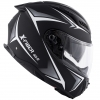 Casco helmet Givi Full Face Integrale 40.5 X-FIBER in Fibra Nero Bianco