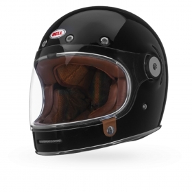 Casco helmet Bell Full Face Integrale BULLITT DLX Gloss Black Cafe' Race moto