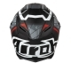 Casco helmet Airoh Full Face Integrale GP 500 Drift Matt Black Fibra Racing