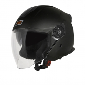 Casco Custom JET Origine Palio 2.0 Solid Matt Black Moto Scooter