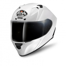 Casco helmet Airoh Full Face Integrale Valor White Gloss Bianco termoplastica