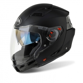 Casco helmet Airoh Flip Up Apribile Modulare Executive Color Black Matt moto