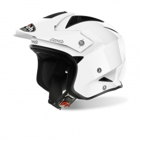 Casco helmet Airoh Urban Jet TRR S Color White Gloss moto scooter