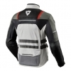 Giacca Moto Touring Rev\'it Offtrack 3 strati Argento Rosso Revit FJT265