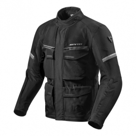 Giacca Rev'it Moto Touring OUTBACK 3 Nero Argento