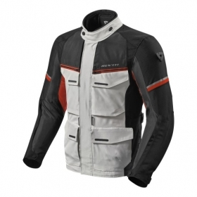 Giacca Rev'it Moto Touring OUTBACK 3 Argento Rosso