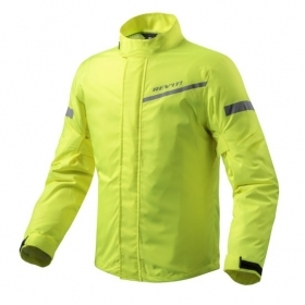 Giacca Antipioggia Rev'it Revit CYCLONE 2 H2O Giallo Neon FRC010