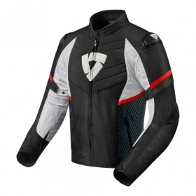 Giacca Rev'it Racing ARC H2O Nero Rosso Revit FJT259