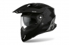 Casco AIROH COMMANDER FULL CARBON GLOSS Nero