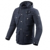 Parka Moto Rev\'it Triomphe Blu Notte Revit FJT248