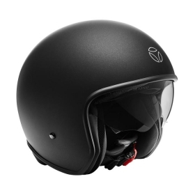 Casco Jet Momo Design ZERO PURE NERO