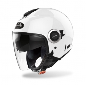 Casco Jet Airoh HELIOS Bianco Lucido HE14