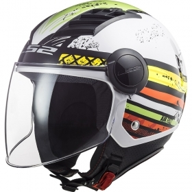 Casco Jet LS2 AIRFLOW RONNIE B